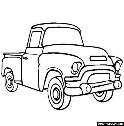 simple truck coloring pages  getcoloringscom  printable colorings pages  print  color