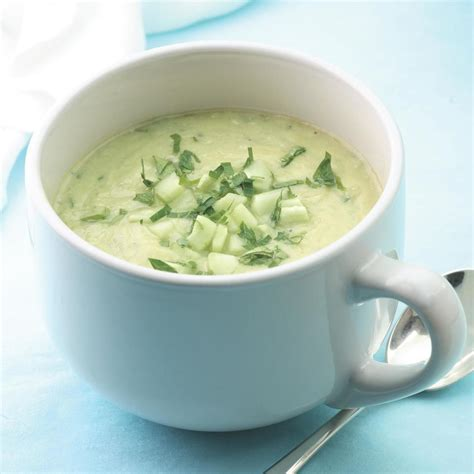 cucumber soup recipe creamy cucumber soup recipe eatingwell