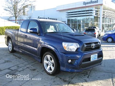 toyota insurance login 2014 toyota tacoma 2wd access cab x runner in port moody