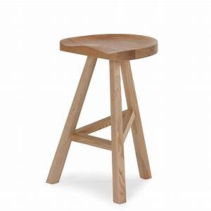 Natural Wooden Bar Stool - Me and My Trend