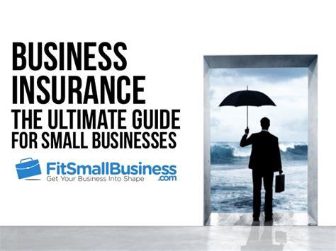 basics  small business insurance