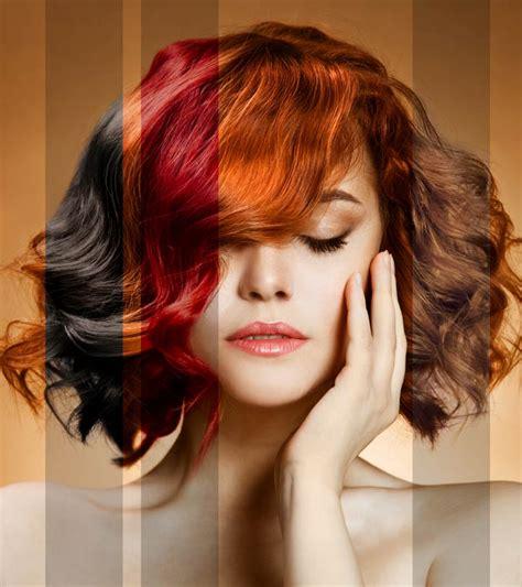 pick   hair color   skin tone