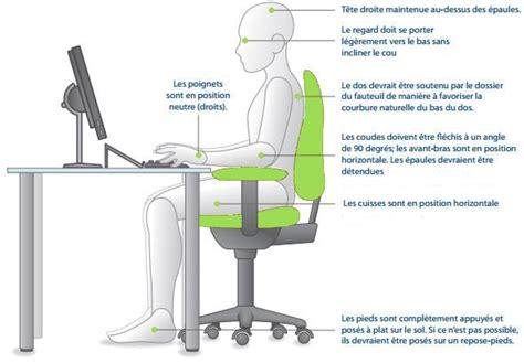 position bureau adopter une bonne position au travail bien o bureau