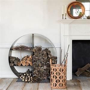 Firewood, Holder, And, Basket, Ideas, 1