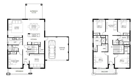 5 Bedroom House Plans Australia by Simple 2 Bedroom House Plans New 5 Bedroom House Designs