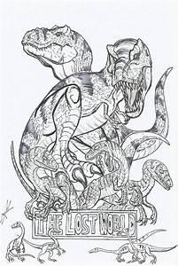 Image Result For Jurassic Park Coloring Books Jurassic