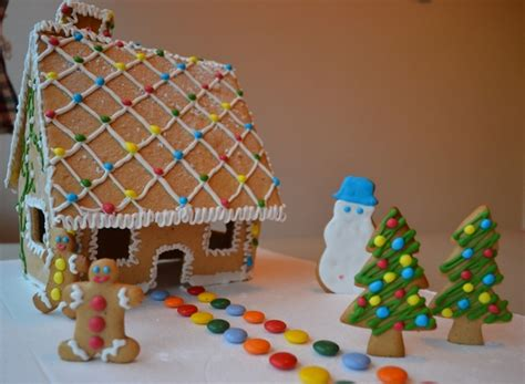 christmas gingerbread house step  step