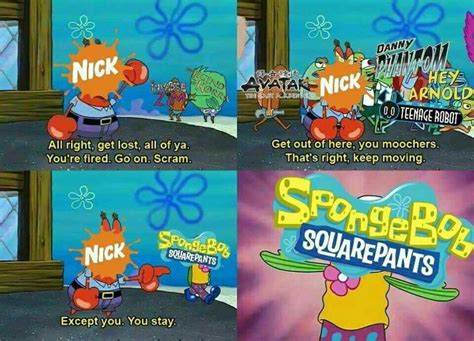 Funny Nickelodeon Meme. Old Cartoon. Spongebob, Danny