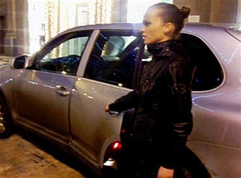 russias  famous  glamorous female bodyguard