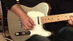 1993 Fender Custom Shop Telecaster Silver Sparkle