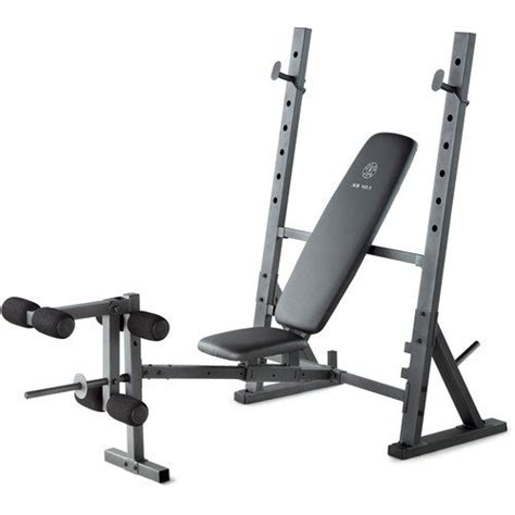 Gold's Gym Xr 101 Weight Bench  Benches  Fitness Equipment