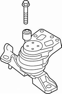Ford Taurus Engine Mount  Front
