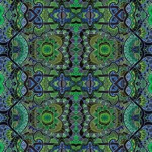 Neon Garden fabric edsel2084 Spoonflower