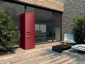 Refrigerateur Pose Libre Dans Une Niche : un r frig rateur sur une terrasse ou au milieu du salon c 39 est possible et tr s tendance ~ Melissatoandfro.com Idées de Décoration