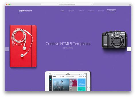 Html5 Website Templates 36 Creative Html5 Css3 Website Templates 2018 Colorlib