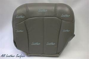 1999 To 2002 Gmc Sierra 1500 2500 Driver Bottom Leather