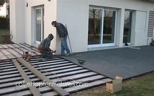 Pose Lame Terrasse Composite : modele de terrasse en composite wu88 jornalagora ~ Premium-room.com Idées de Décoration