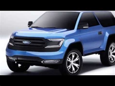 ford bronco specs release youtube