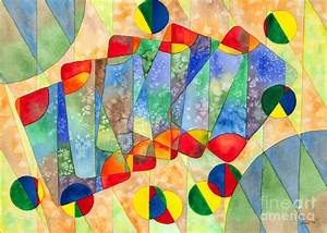 The Basics Of Abstract Watercolor Painting - Time Pass