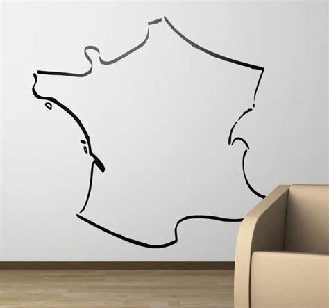 Wandtattoo Kinderzimmer Frankreich by Wandtattoo Frankreich Umrisse Tenstickers