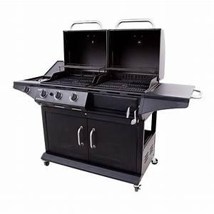Kohle Gasgrill Kombination : deluxe gas charcoal combo grill char broil ~ Frokenaadalensverden.com Haus und Dekorationen