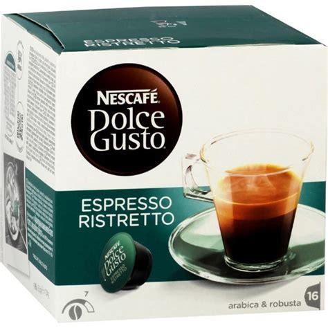 dolce gusto espresso kapseln nescafe dolce gusto ristretto 16 kapseln bestellen kaufen