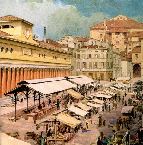 Ghiaia Parma by 187 Piazza Ghiaia And The City Markets