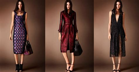 burberry burberry neorococó pre fall 2014 collections part i