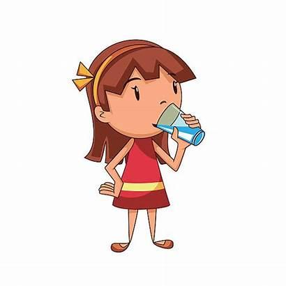 Drinking Water Drink Clipart Clip Illustrations Similar
