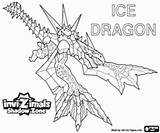 Dragon Invizimals Ice Coloring Pages Fire Zone Shadow Dragons Printable Jungle Breathing Template Sha Adults sketch template