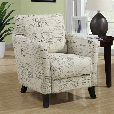 monarch specialties i 800 fabric accent chair lowe s canada