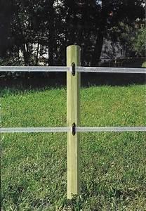 Piquet En Bois Pour Cloture : piquet de cl ture bois trait ~ Farleysfitness.com Idées de Décoration
