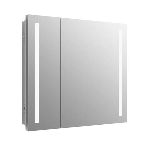 medicine cabinet with outlet shop kohler verdera 34 in x 30 in rectangle recessed