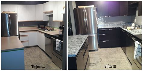nuvo cabinet paint before and after before and after using giani granite countertop paint and 158