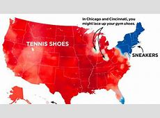 Sneakers or tennis shoes What do you call them