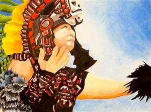 Aztec Indian Portraits