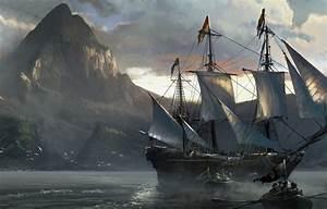 Wallpaper sea, Assassin's Creed IV: Black Flag, ship ...