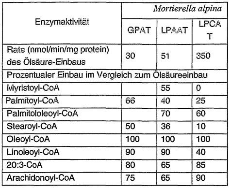 Neue Pflanzliche Acyltransferasen