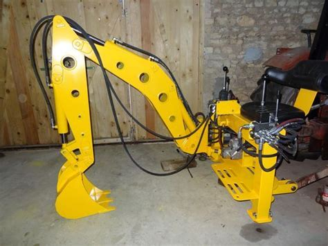 diy backhoes images  pinterest homemade tools