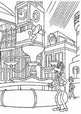 Away Flushed Coloring Pages sketch template