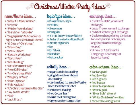 christmas party names sk studios homemaking 31 days advent calendar bonus ideas