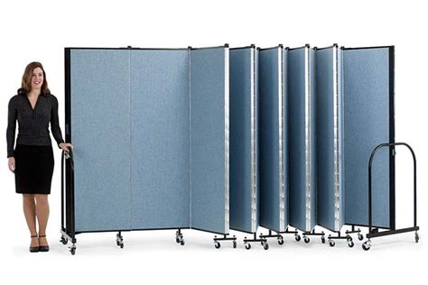 folding screens room dividers screenflex freestanding portable partitions company