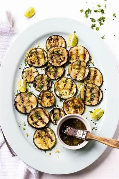 Grilled Zucchini Lemon Garlic Recipe Grilling Recipes