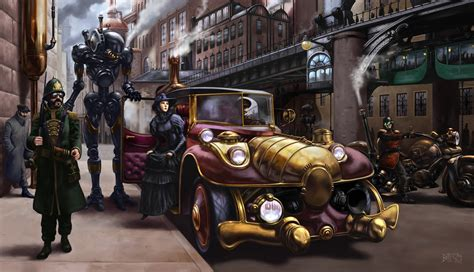 Steampunk Hd Wallpaper  Background Image  3000x1727 Id