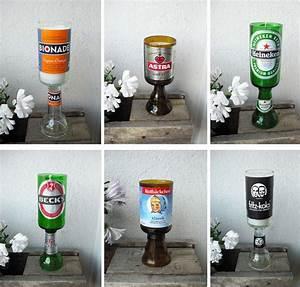 Kerzenhalter Für Flaschen : 25 einzigartige glasflaschen schneiden ideen auf ~ Whattoseeinmadrid.com Haus und Dekorationen
