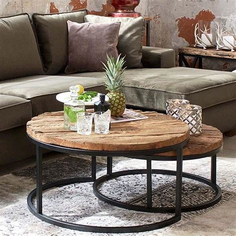 Round tables take up less space than square ones, making it easier for if you want to put a decorative table against a wall in a small room, opt for a semicircular one instead. Round Coffee Table Decor Ideas New Decorated Round Coffee Tables Easy Home Decorating Ideas in ...