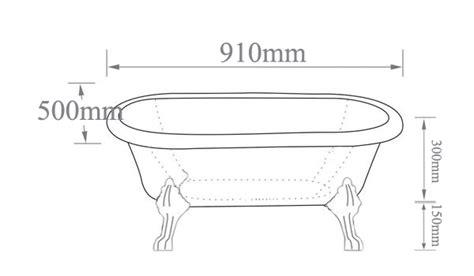 Clawfoot Tub Sizes by Small Clawfoot Tub Baby Clawfoot Tub