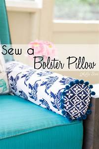 how to sew a bolster pillow melly sews With cheap bolster pillows