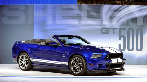 2018 Shelby Gt500 Convertible Helps Svt Mark Its 20th