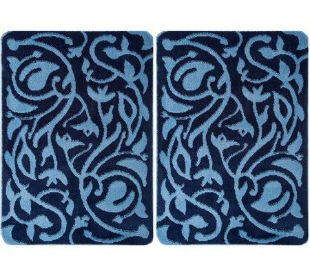 Don Aslett Doormats by Don Aslett S Set Of 2 26 Quot X 38 Quot Tonal Microfiber Indoor